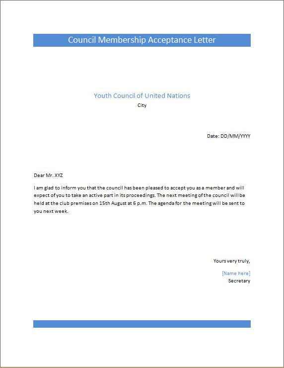 Public Interest Cover Letters | Microsoft Word & Excel Templates